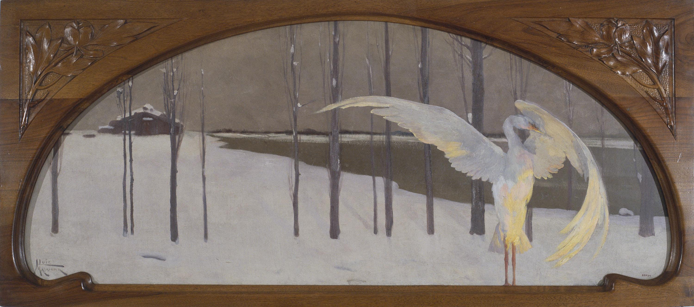 Lluís Masriera - Composició decorativa per al frontal d'una xemeneia - Cap a 1911