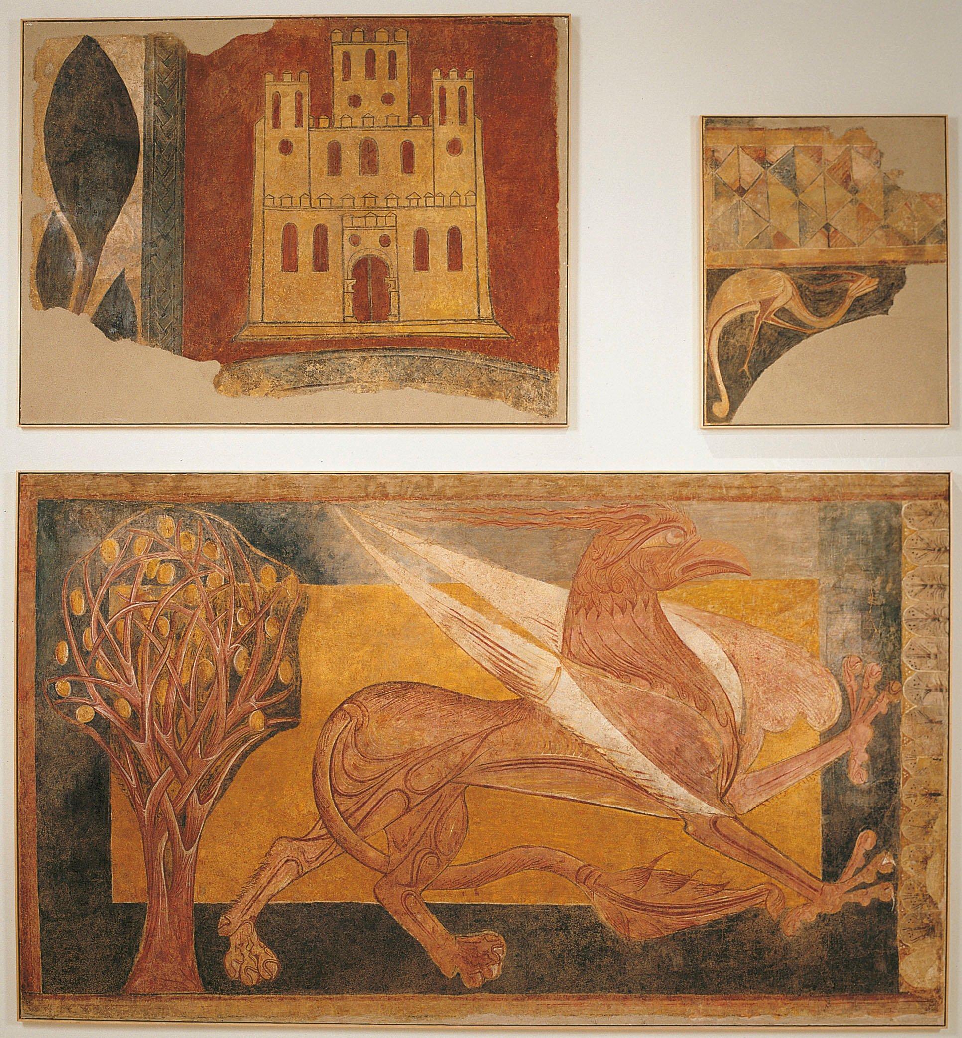 Anònim. Castella - Pintures d'Arlanza - Primer quart del segle XIII