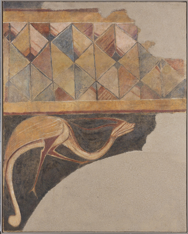 Anònim. Castella - Sanefa i animal fantàstic d'Arlanza - Primer quart del segle XIII