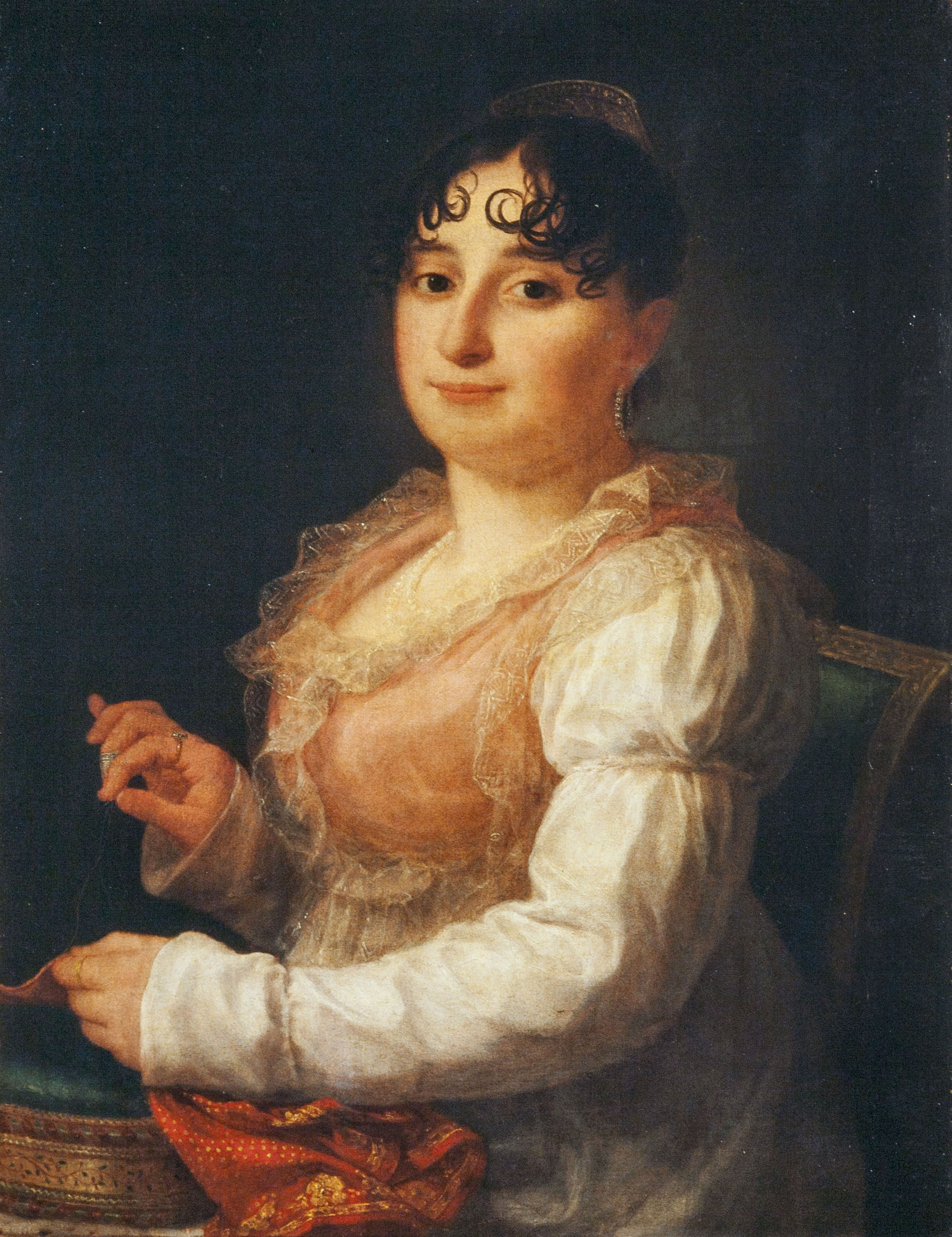 Agustí Esteve - Retrat de Mariana Morera i Canet - 1814