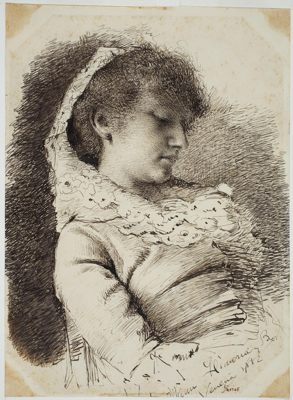 Joan Llimona - Female portrait - 1882
