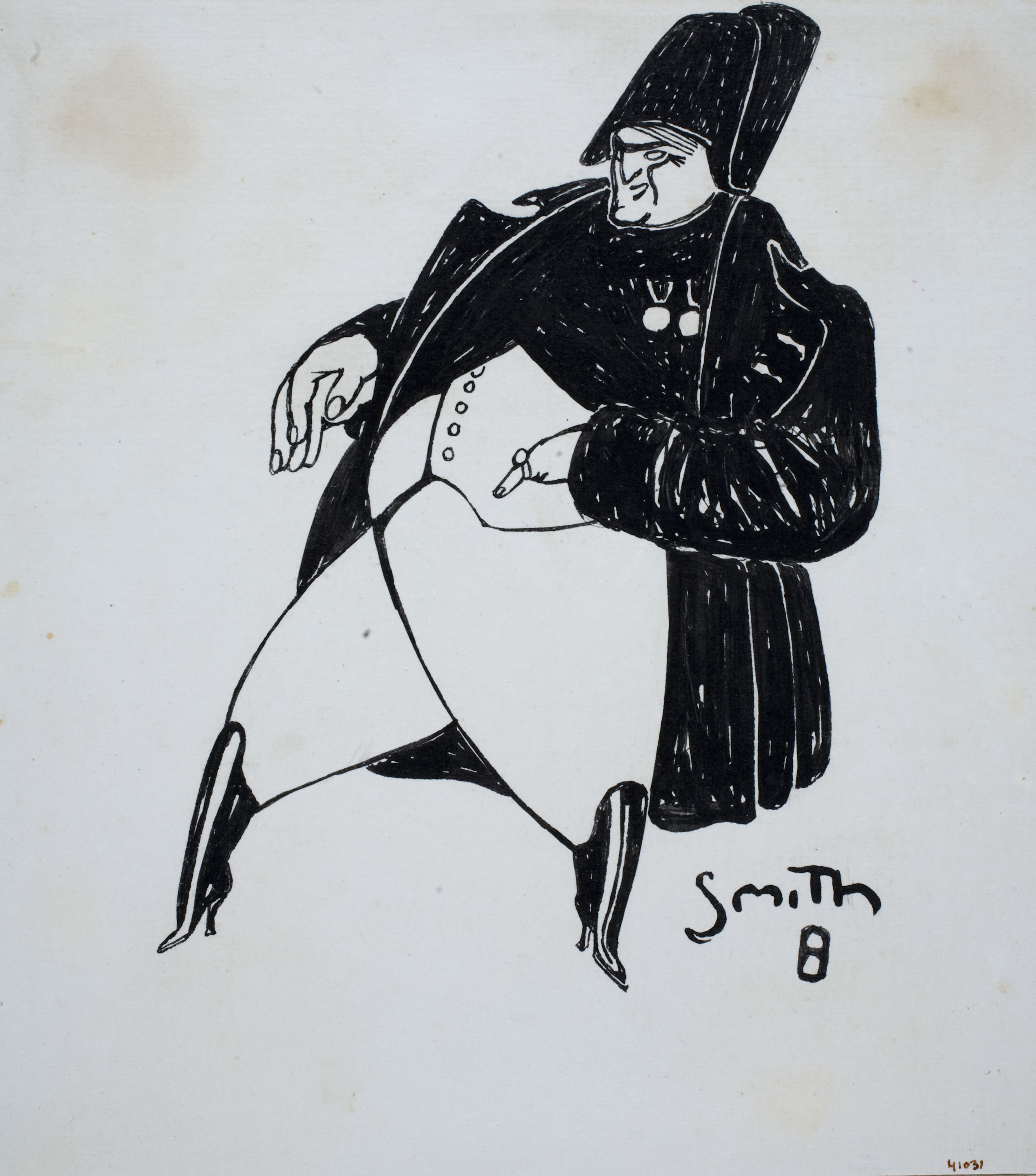 Ismael Smith - Caricature of Napoleon - [no-dating]