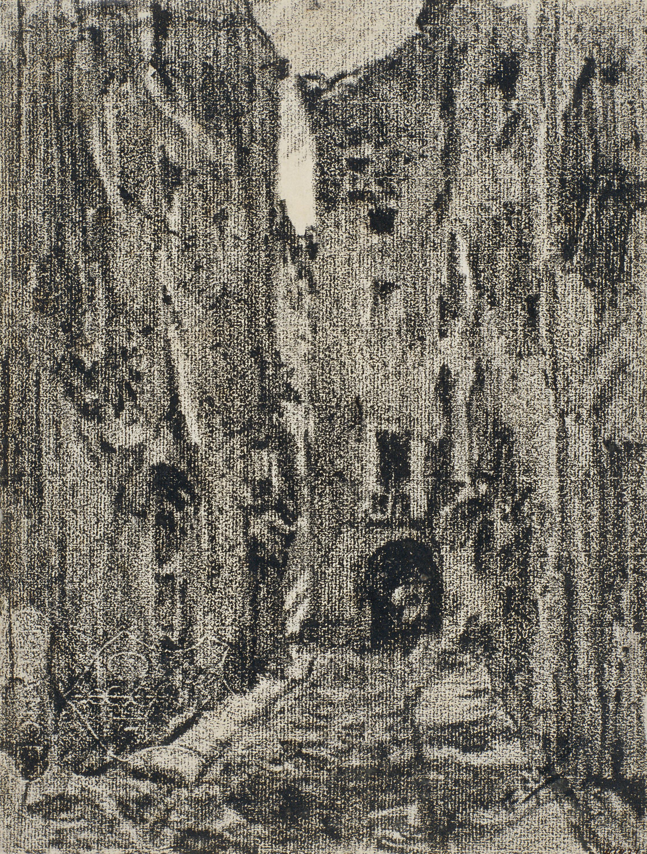 Francesc Gimeno - A street in Girona - 1916