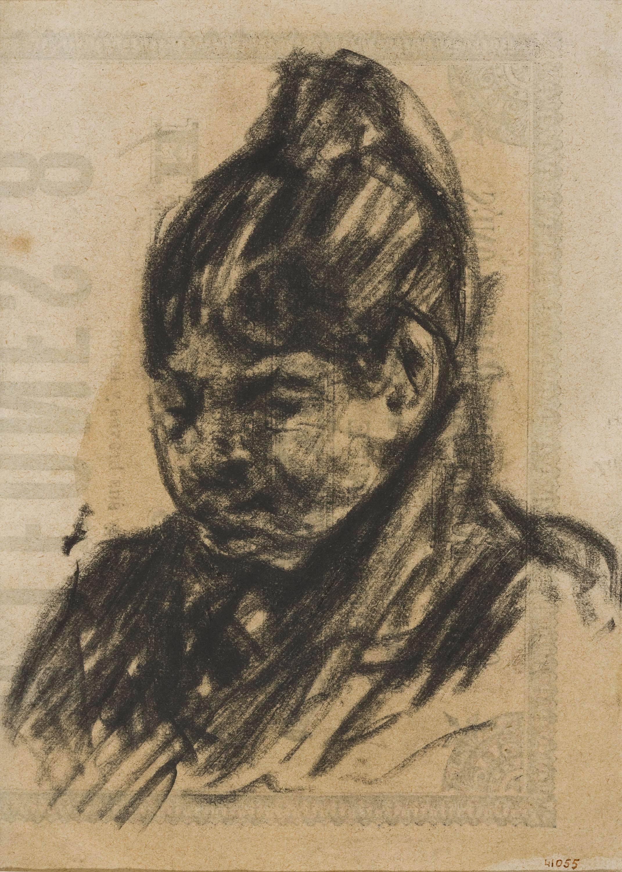 Francesc Gimeno - Bust femení - 1887