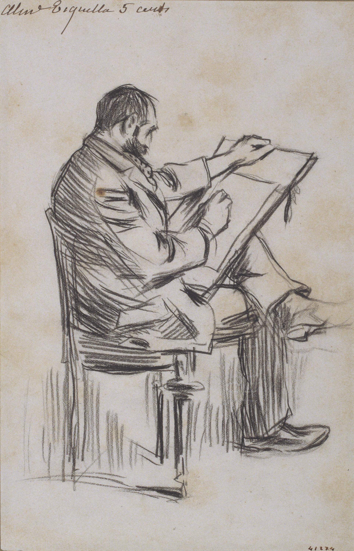 Ramon Casas - Dibuixant - 1891