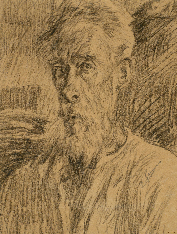 Francesc Gimeno - Autorretrato - Hacia 1920