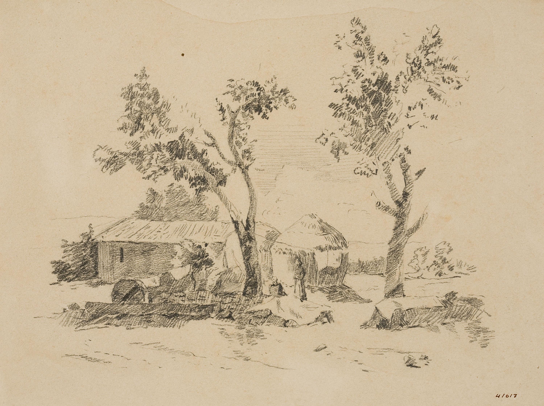 Francesc Gimeno - Estudi de paisatge - Cap a 1878