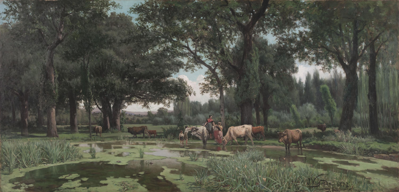 Joaquim Vayreda - L'estiu - 1877