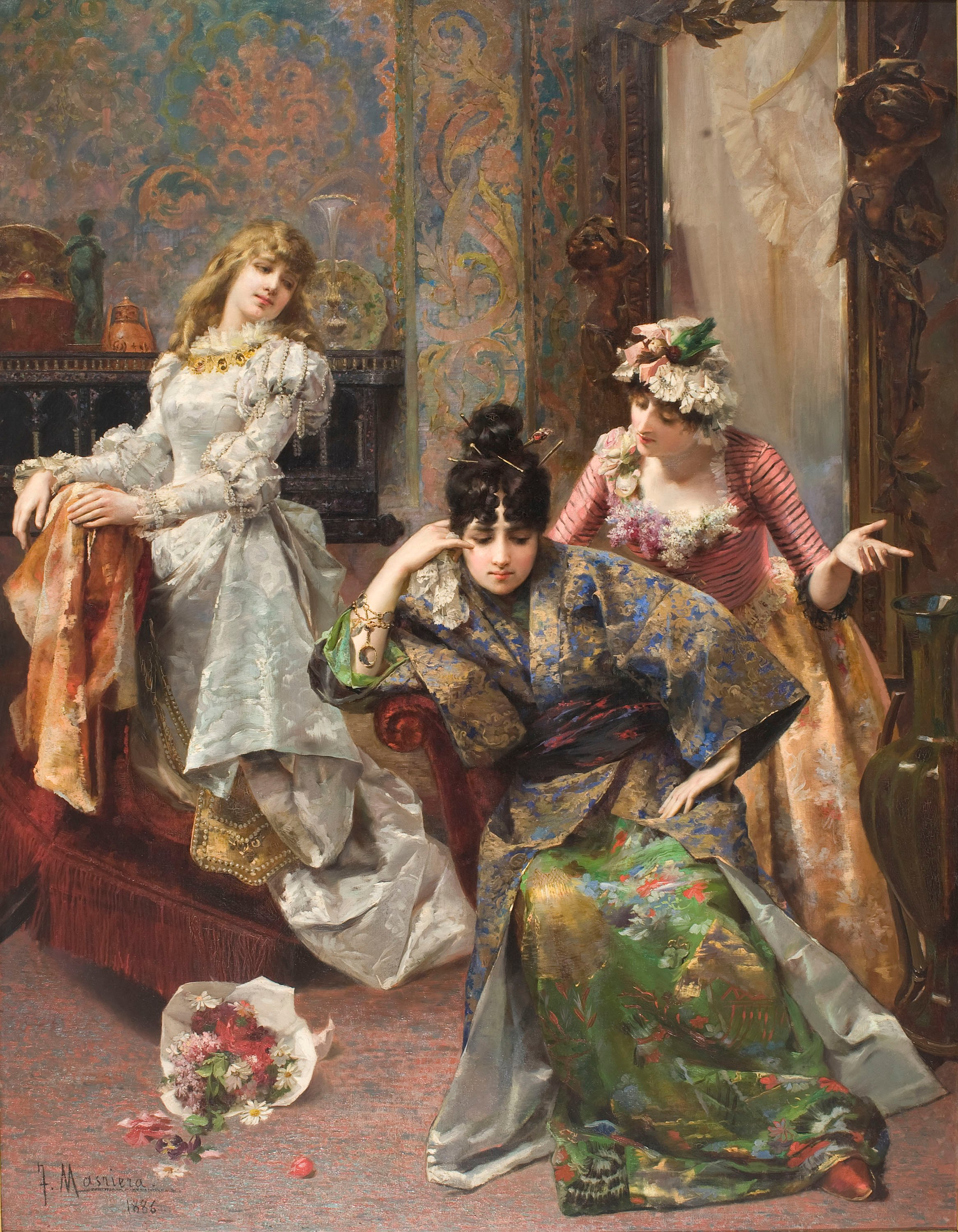 Francesc Masriera - After the Ball - 1886
