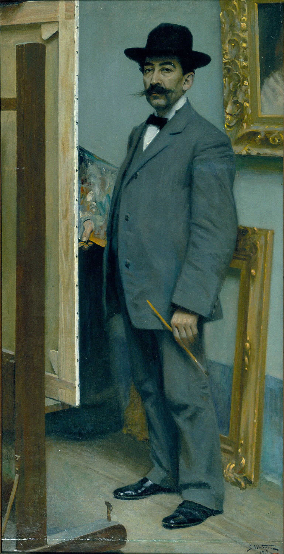 Segundo Matilla - Autorretrato - 1907