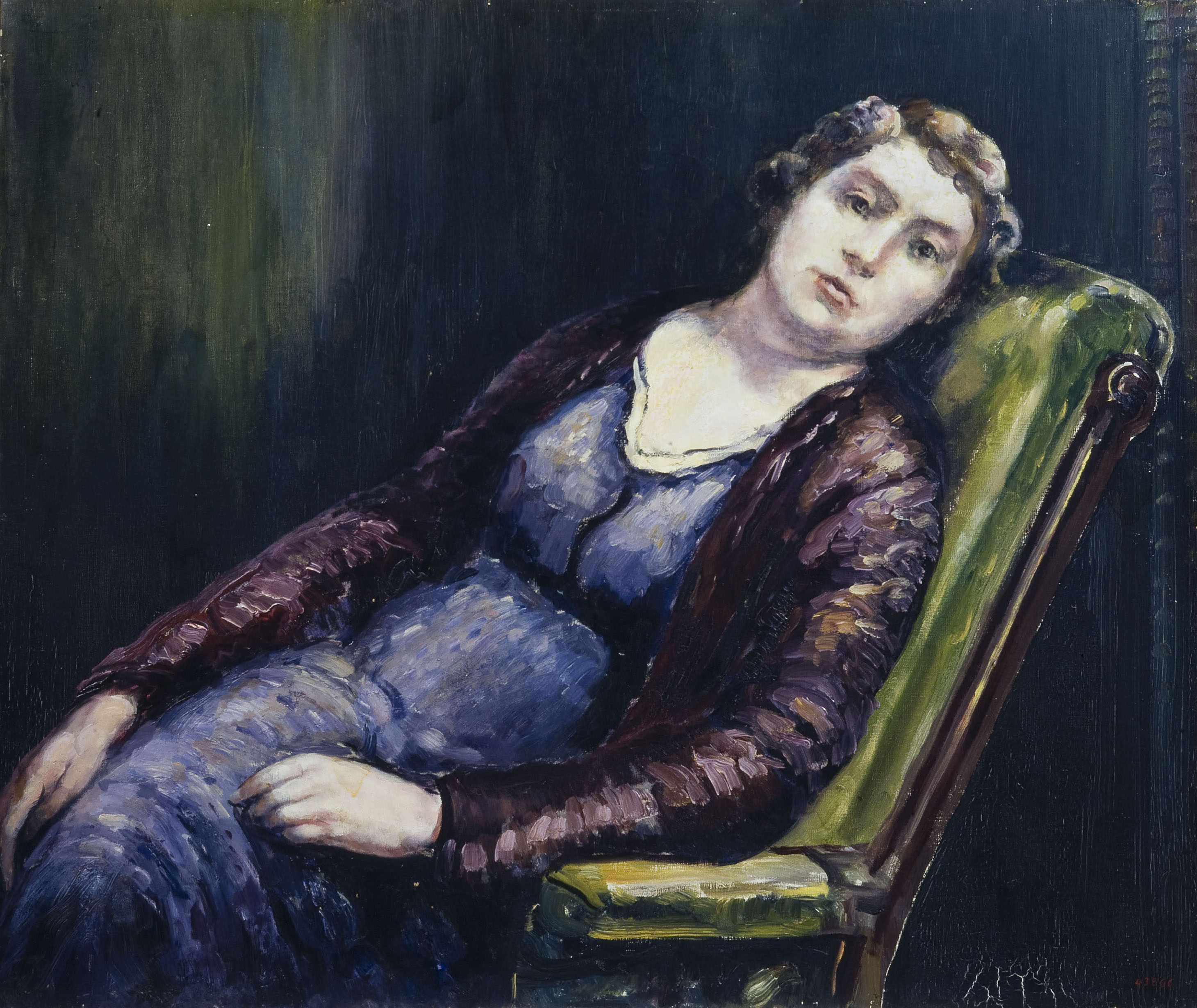 Marià Pidelaserra - The woman of the rocking chair - 1934