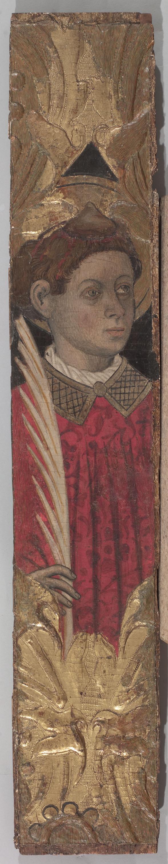 Bernat Martorell - Sant Esteve - Cap a 1445-1452