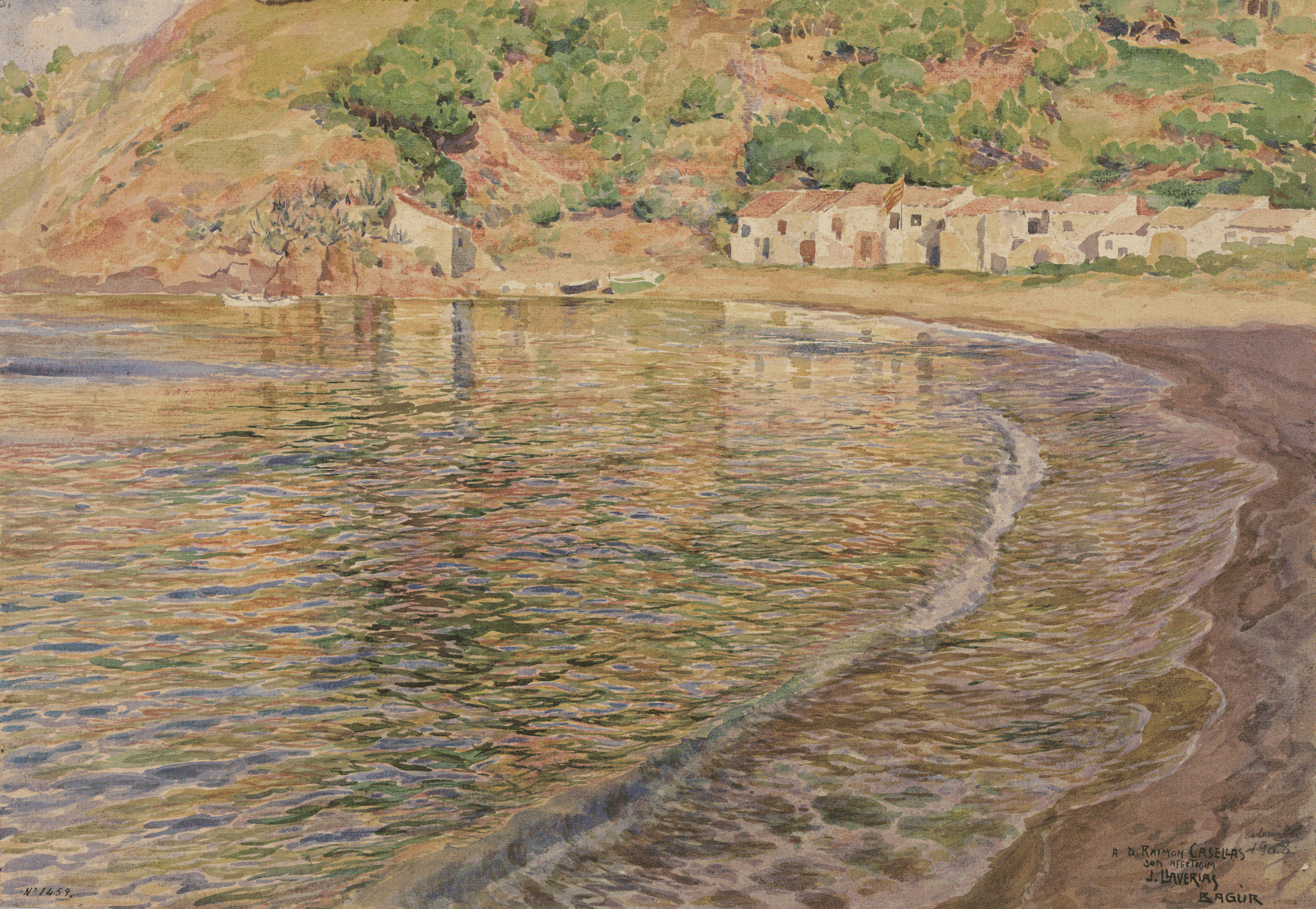 Joan Llaverias - Sa Riera i Cala Begur - 1900