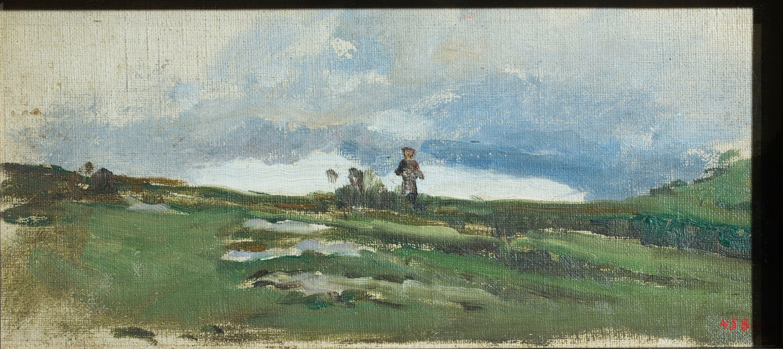 Joaquim Vayreda - Nota de paisatge - Cap a 1870-1890