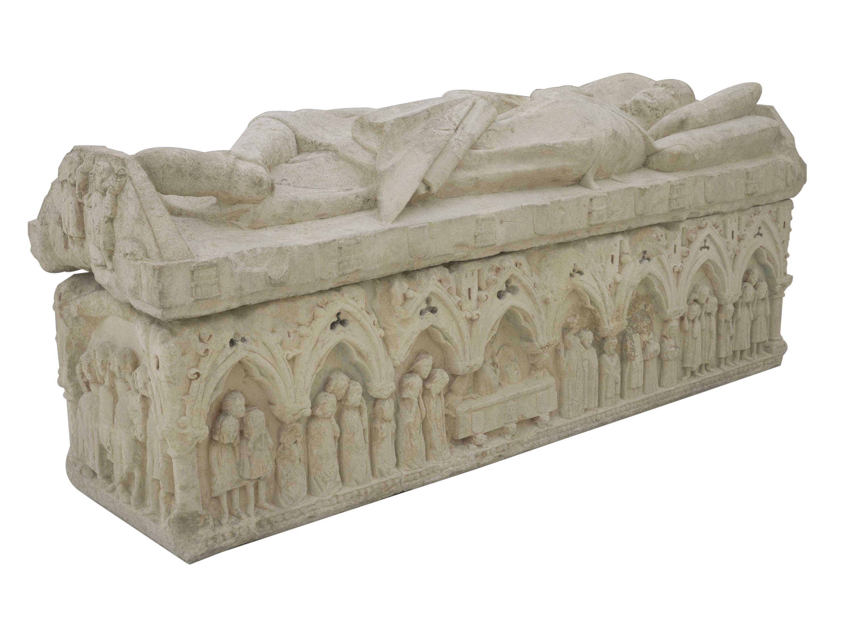 Anònim. Castella - Sepulcre d'un cavaller de la família dels Téllez de Meneses - Cap a 1300