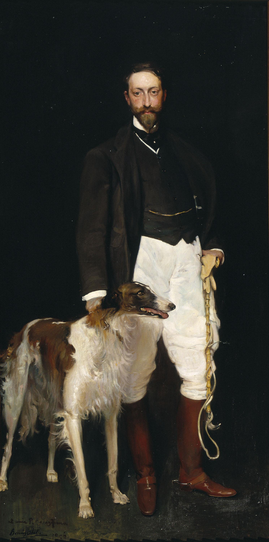 Vicent Borràs - Portrait of Pere Casas Abarca - 1906