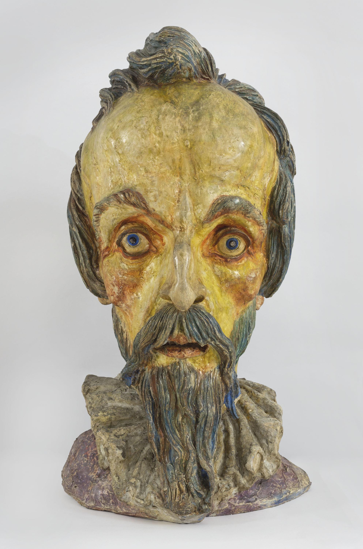 Ismael Smith - Head of Don Quixote or Cervantes - Circa 1927-1932