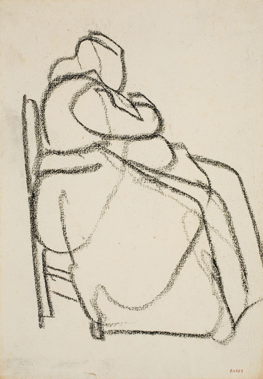 Isidre Nonell - Mujer sentada - Hacia 1911