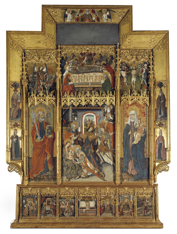 Joan Reixach - Retaule de l'Epifania - Cap a 1469