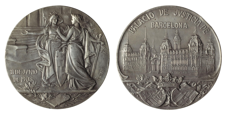 Antoni Parera - Palau de Justícia de Barcelona - 1908