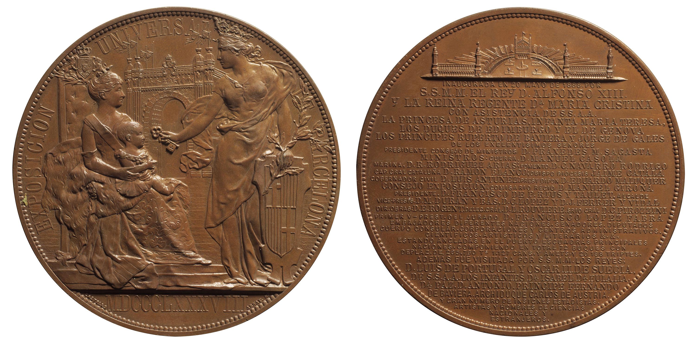 Eusebi Arnau - Souvenir of the Universal Exposition of Barcelona - 1888