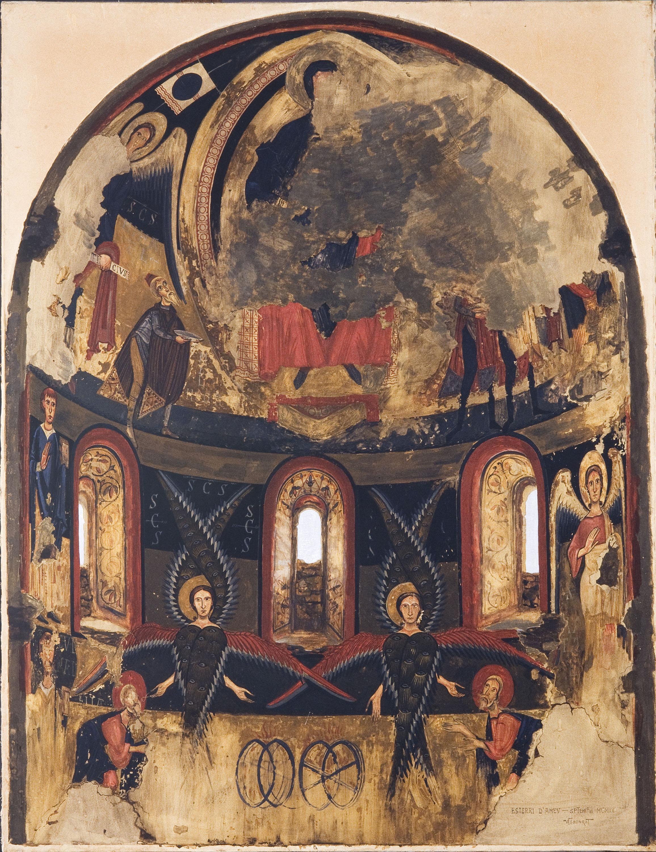 Resultado de imagen de Ábside de Santa Maria d'Àneu