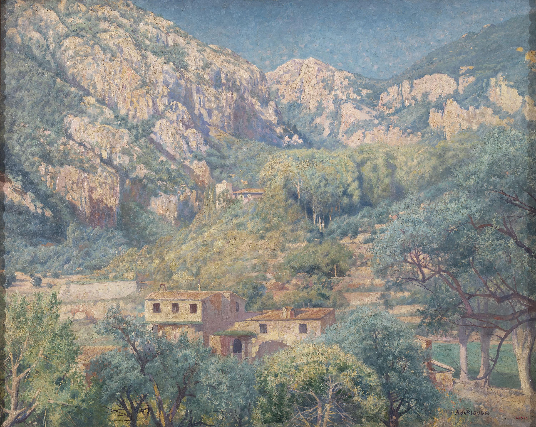 Alexandre de Riquer - Paisatge de Mallorca - 1917-1920