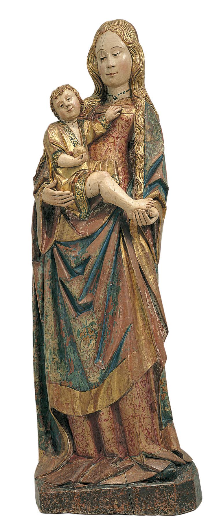 Gil de Brabante - Mare de Déu - Cap a 1500