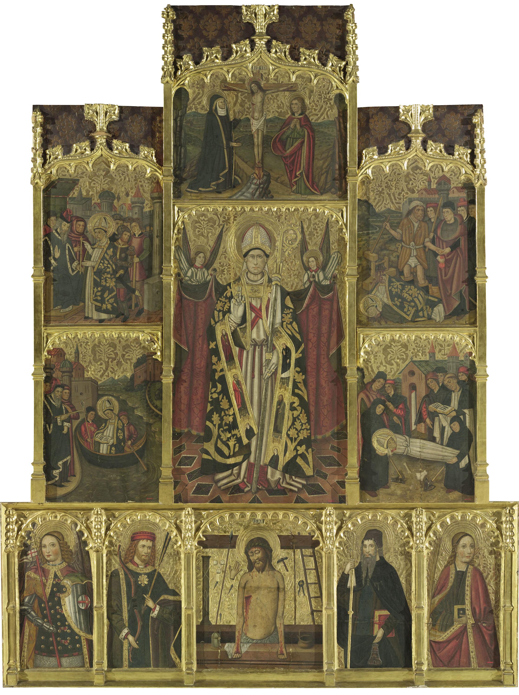 Retablo de San Cipriano