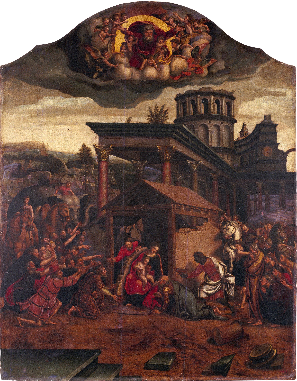 Mestre de Pau i Bernabeu - Epifania - Primera meitat del segle XVI
