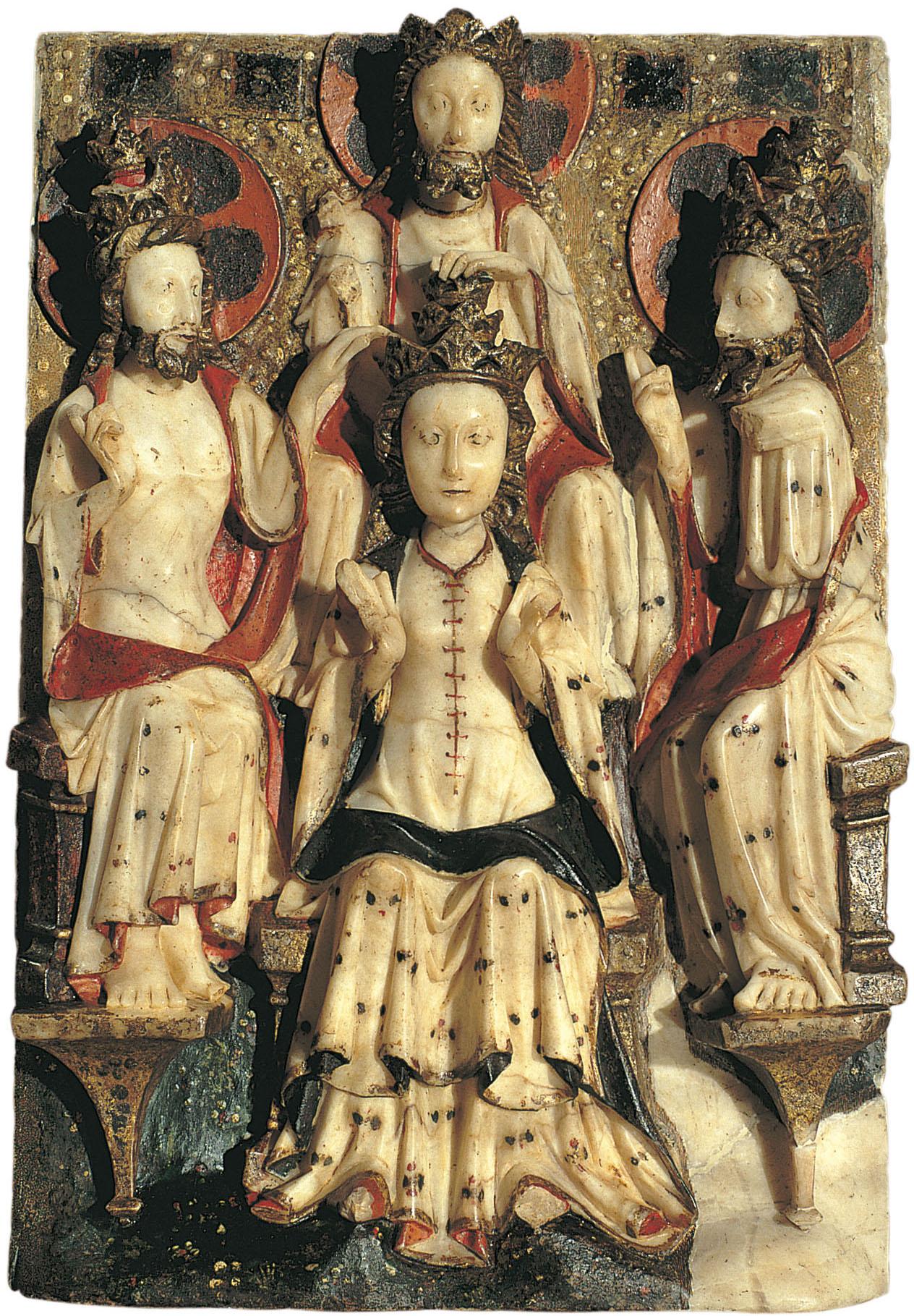 Anònim. Anglaterra. Londres o York - Coronació de la Mare de Déu - Entre 1420-1460