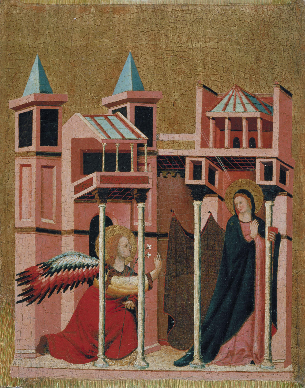 Mestre de la Madonna Cini - Anunciació - Cap a 1330