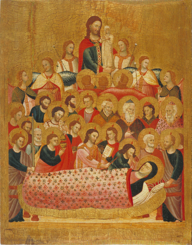 Mestre de la Madonna Cini - Dormició de la Mare de Déu - Cap a 1330
