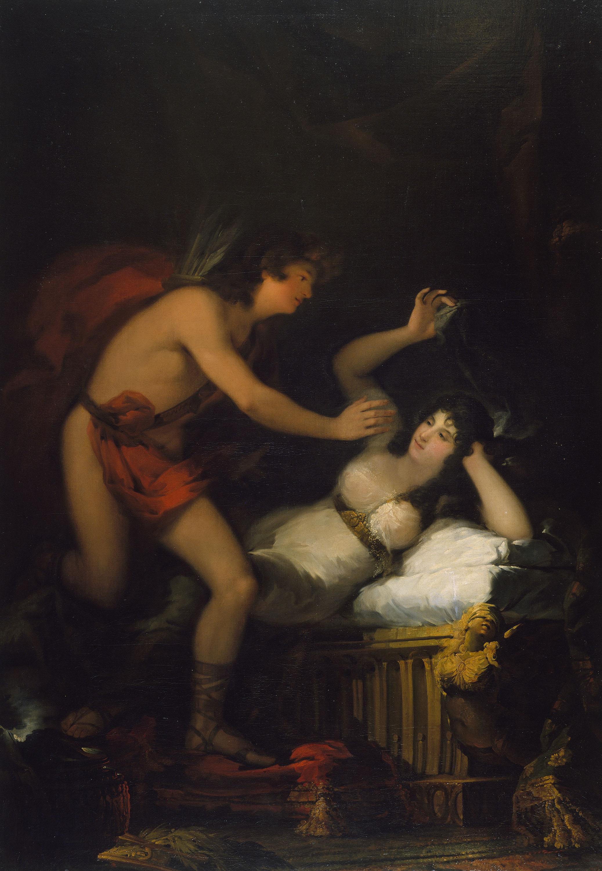 Francisco de Goya - Al·legoria de l'Amor, Cupido i Psique [?] - 1798-1805