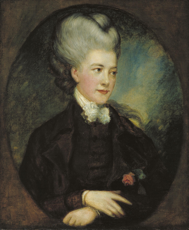 Thomas Gainsborough - Lady Georgiana Poyntz, comtessa Spencer [?] - Segle XVIII