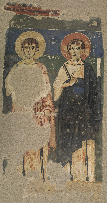 Resultado de imagen de Apóstoles de Àger Tadeo y Santiago