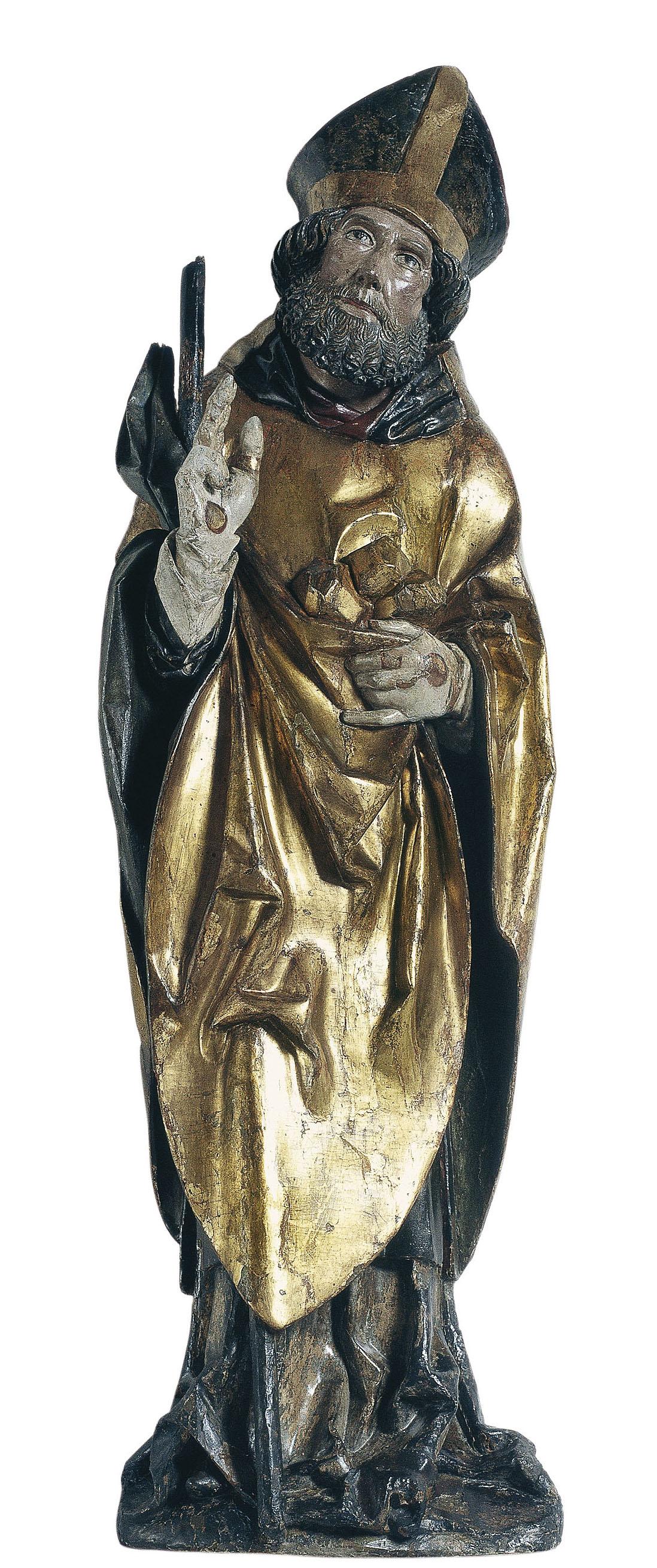 Anònim. Alemanya - Sant Nicolau - Cap a 1500