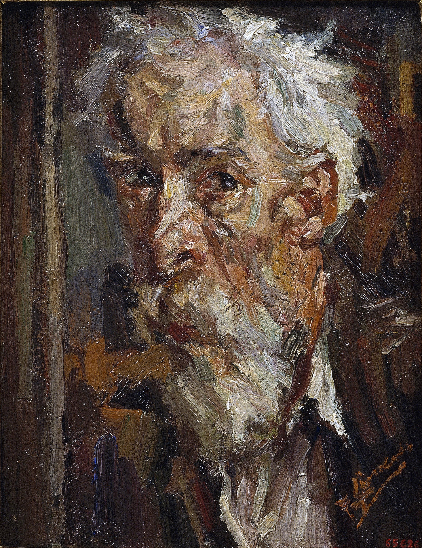Francesc Gimeno - Autoretrat - Barcelona, cap a 1925
