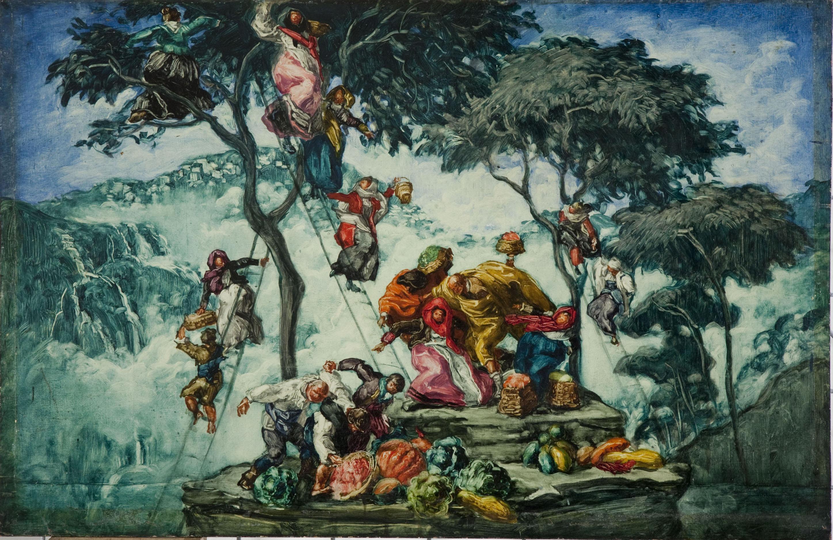 Josep Maria Sert - Europe or The Autumn (Rothschild Pavilion) - 1917-1920