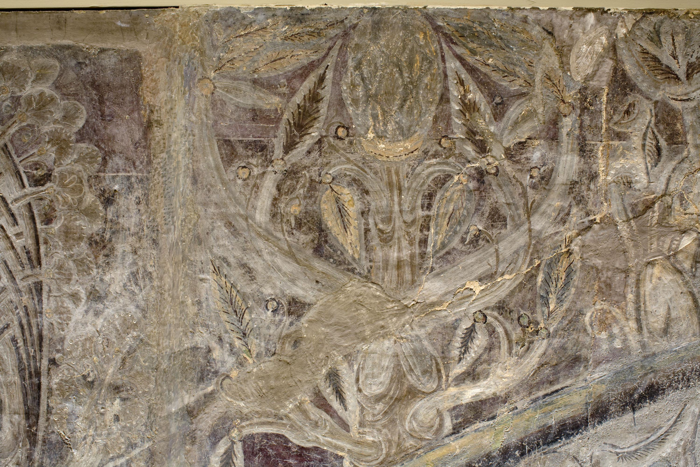 Mestre de la sala capitular de Sixena - Déu mostra el Paradís a Adam i Eva, de la sala capitular de Sixena - Entre 1196-1200 [3]