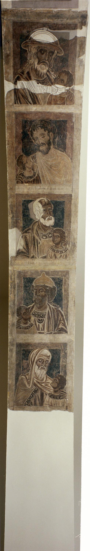 Mestre de la sala capitular de Sixena - De Fares a Naason de la genealogia de Crist segons Mateu, de la sala capitular de Sixena - Entre 1196-1200