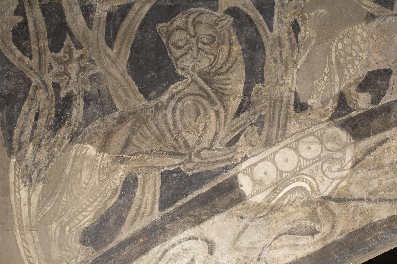 Mestre de la sala capitular de Sixena - Expulsió del Paradís, de la sala capitular de Sixena - Entre 1196-1208 [1]