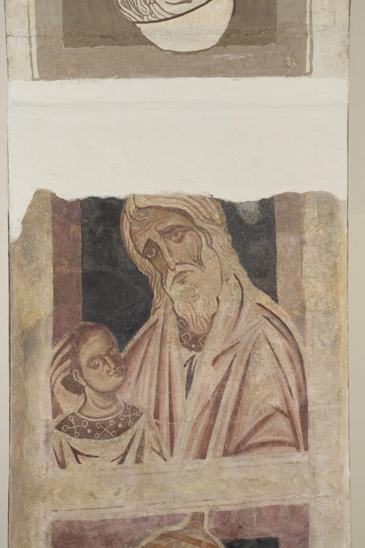 Mestre de la sala capitular de Sixena - D'Amon a Zorobabel de la genealogia de Crist segons Mateu, de la sala capitular de Sixena - Entre 1196-1208 [1]