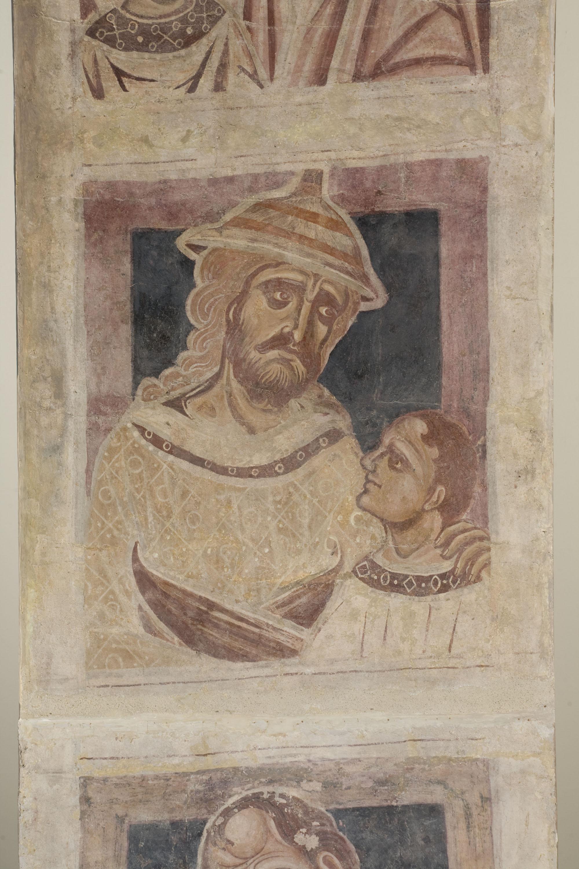Mestre de la sala capitular de Sixena - D'Amon a Zorobabel de la genealogia de Crist segons Mateu, de la sala capitular de Sixena - Entre 1196-1208 [2]
