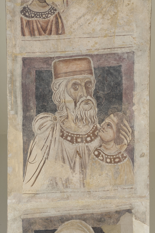 Mestre de la sala capitular de Sixena - D'Amon a Zorobabel de la genealogia de Crist segons Mateu, de la sala capitular de Sixena - Entre 1196-1208 [4]