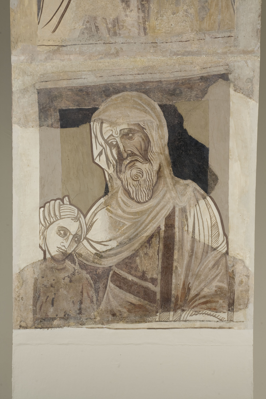 Mestre de la sala capitular de Sixena - D'Amon a Zorobabel de la genealogia de Crist segons Mateu, de la sala capitular de Sixena - Entre 1196-1208 [5]