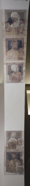 Mestre de la sala capitular de Sixena - D'Abihud a Eleazar de la genealogia de Crist segons Mateu, de la sala capitular de Sixena - Entre 1196-1208