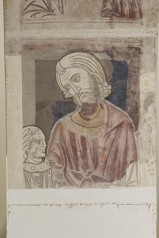 Mestre de la sala capitular de Sixena - D'Abihud a Eleazar de la genealogia de Crist segons Mateu, de la sala capitular de Sixena - Entre 1196-1208 [3]