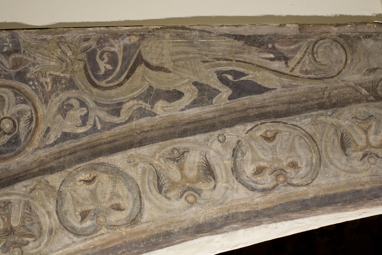 Mestre de la sala capitular de Sixena - Caïm mata Abel, de la sala capitular de Sixena - Entre 1196-1208 [2]
