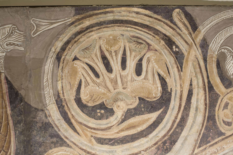 Mestre de la sala capitular de Sixena - Noè fa entrar els animals a l'arca, de la sala capitular de Sixena - Entre 1196-1208 [3]